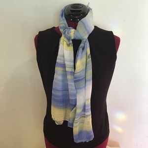 Accessories - 🐿Watercolor Print Scarf